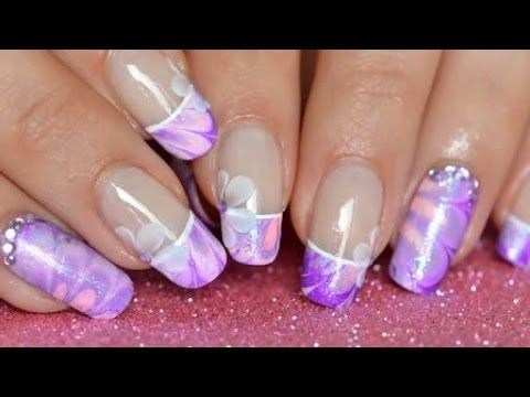 263 best youtube nail art designs images on pinterest nail art nail art french manicure water marble prinsesfo Image collections