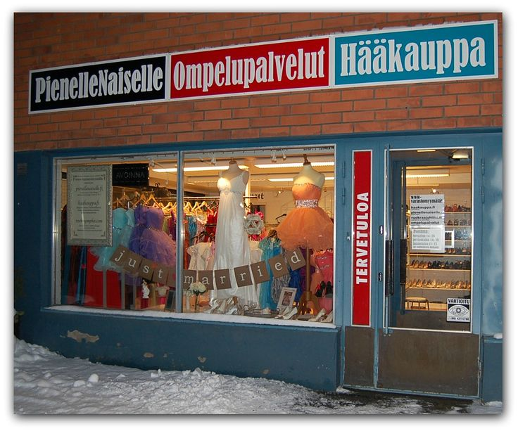 Kolmen ihanaisen naisen yhteinen myymälä Seinäjoella, Sammonkatu 26. haakauppa.fi, pienellenaiselle.fi ja rocknympho.com (ompelupalvelut)