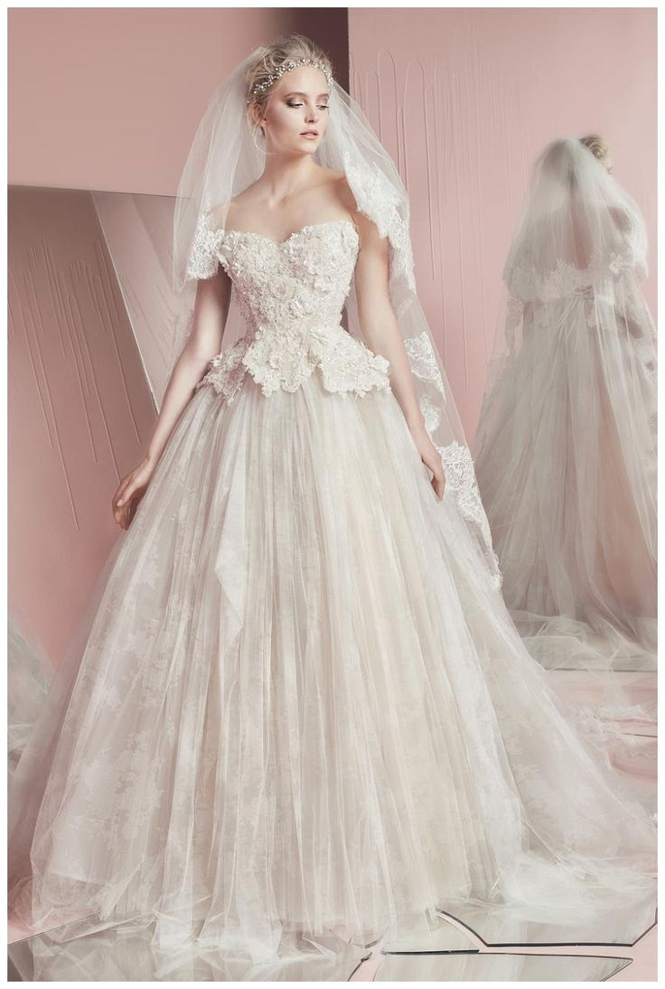 The 15 best Zuhair Murad Spring Summer 2016 Bridal Collection images ...