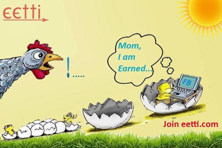 Earn Money With social media Click http://eetti.com