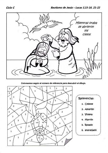 El Rincón de las Melli: Bautismo del Señor - CICLO C