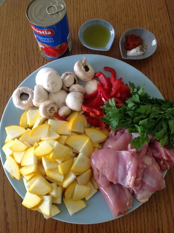 składniki na gulasz z kurczaka