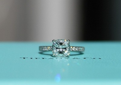 Tiffany Amp Co Princess Cut Diamond Ring My Dream