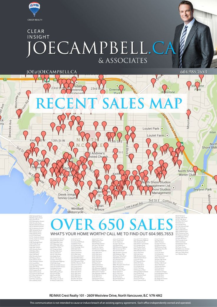 Just Listed flyer for Realtor Joe Campbell