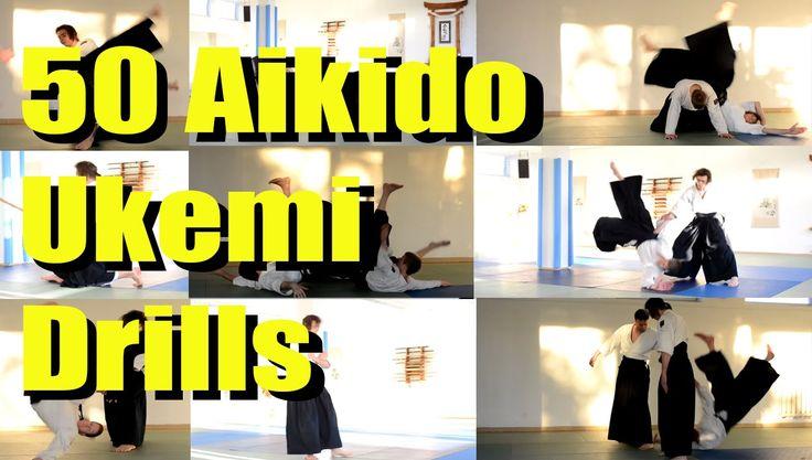 50 Different Aikido Ukemi Drills in 7 Minutes