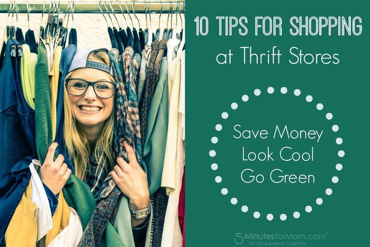 Do you ever shop at thrift stores?   Shopping at thrift shops and other second hand clothing stores is an awesome way to save money, find unique clothes and decor items and to help the environment. …