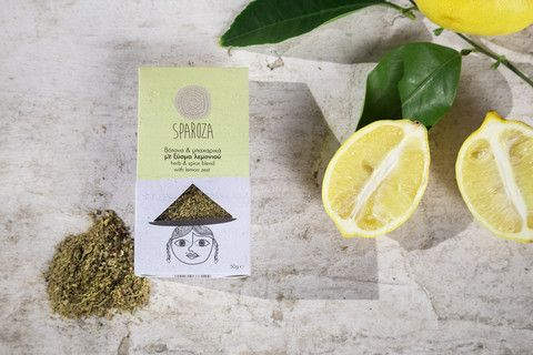 SPAROZA Herb and Spice Blend with Lemon Zest - available at www.homerst.com.au