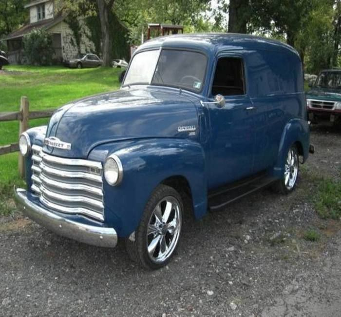 1000 Images About 1951 To 1959 Carz On Pinterest: 1000+ Images About PANEL TRUCKS & SEDAN DELIVERY On