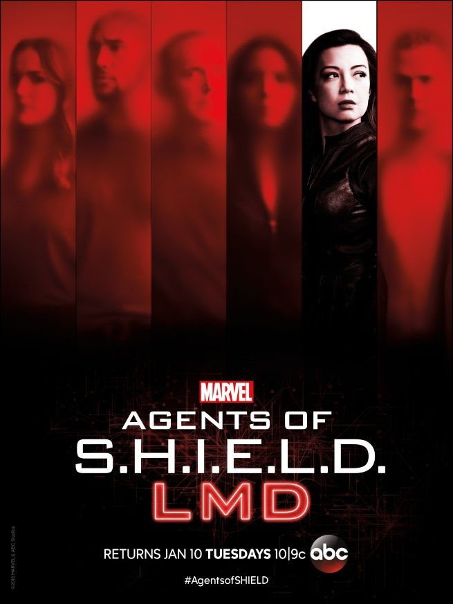Marvel'sAgents of SHIELD is just one week away from returning for the second half of Season 4, [...]