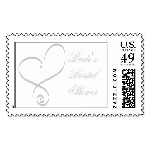 299 best Bridal Shower Postage Stamps images on Pinterest - stamp template