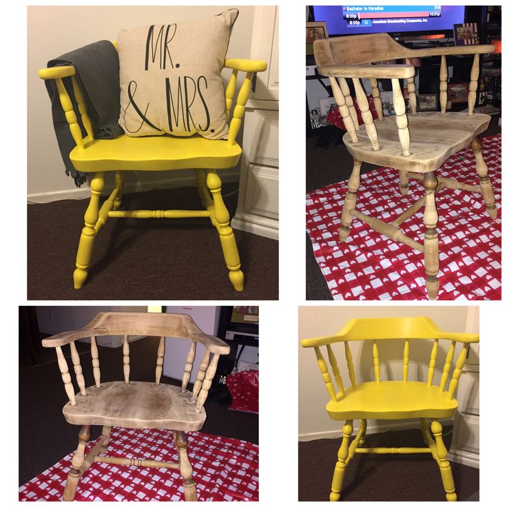 Took an old chair & gave it life again