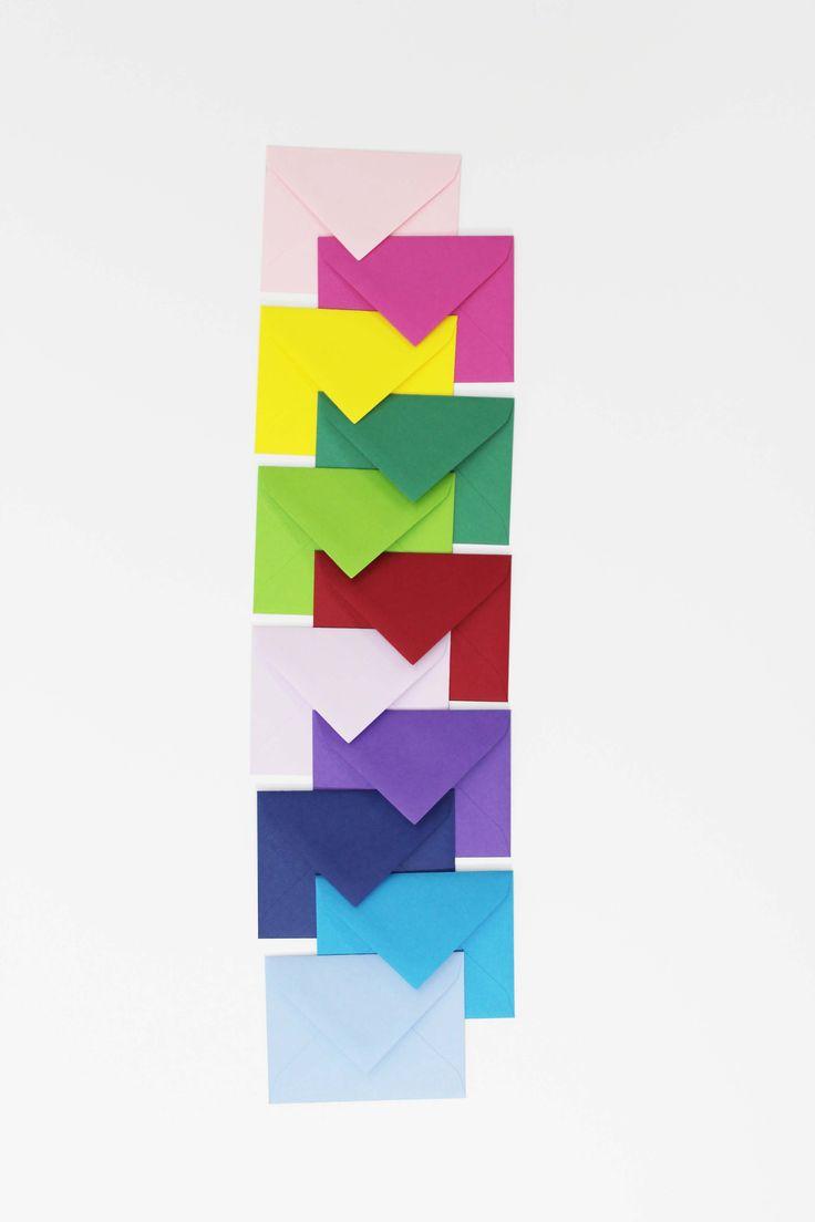 Sobres de colores Pepa Paper