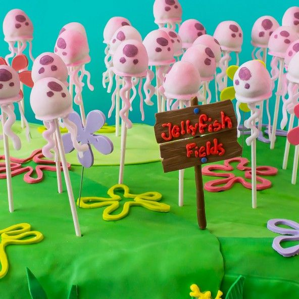 Party Jelly Ideas: Jellyfish, Cake Pop And Cakes