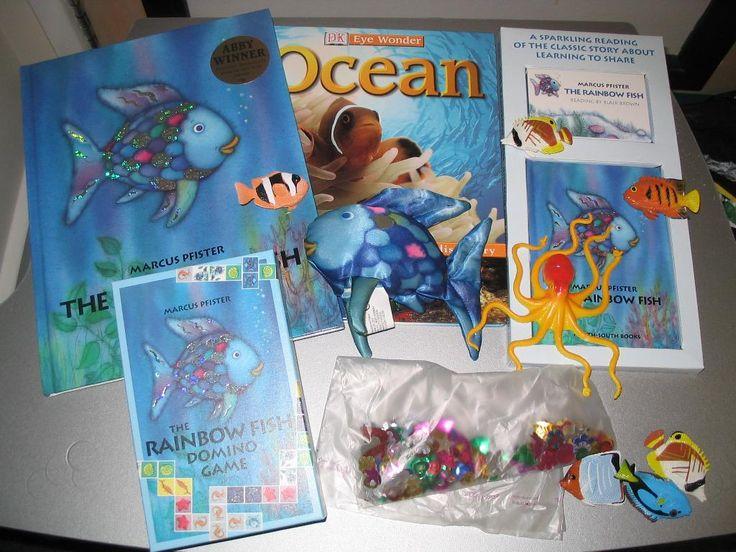 story sack rainbow fish - Google Search