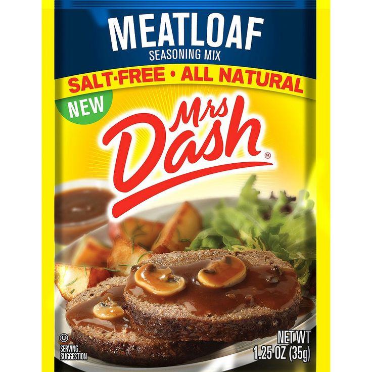 Mrs. Dash Meatloaf Seasoning Mix 1.25 oz