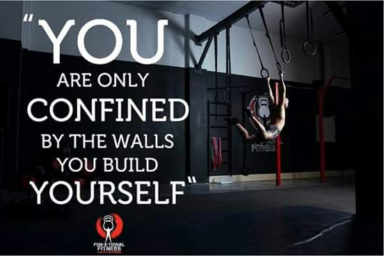 So you want to get fitter, stronger, faster, well step outside your comfort zone and make it happen!