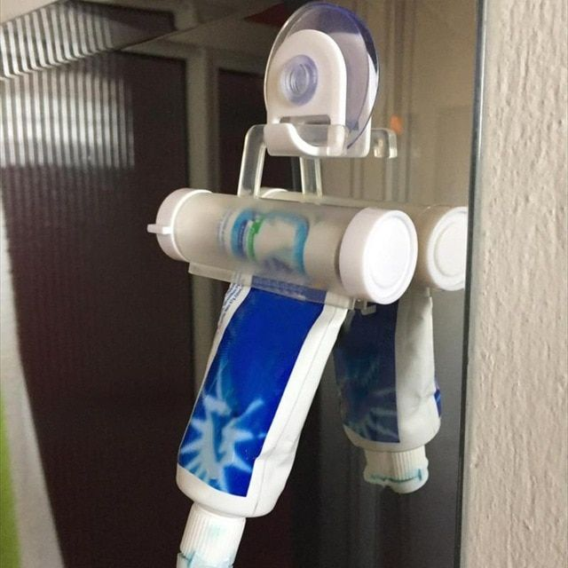 4Pcs Toothpaste Squeezer Bathroom Home Tube Rolling Holder Squeezer Toothpaste Dispenser
