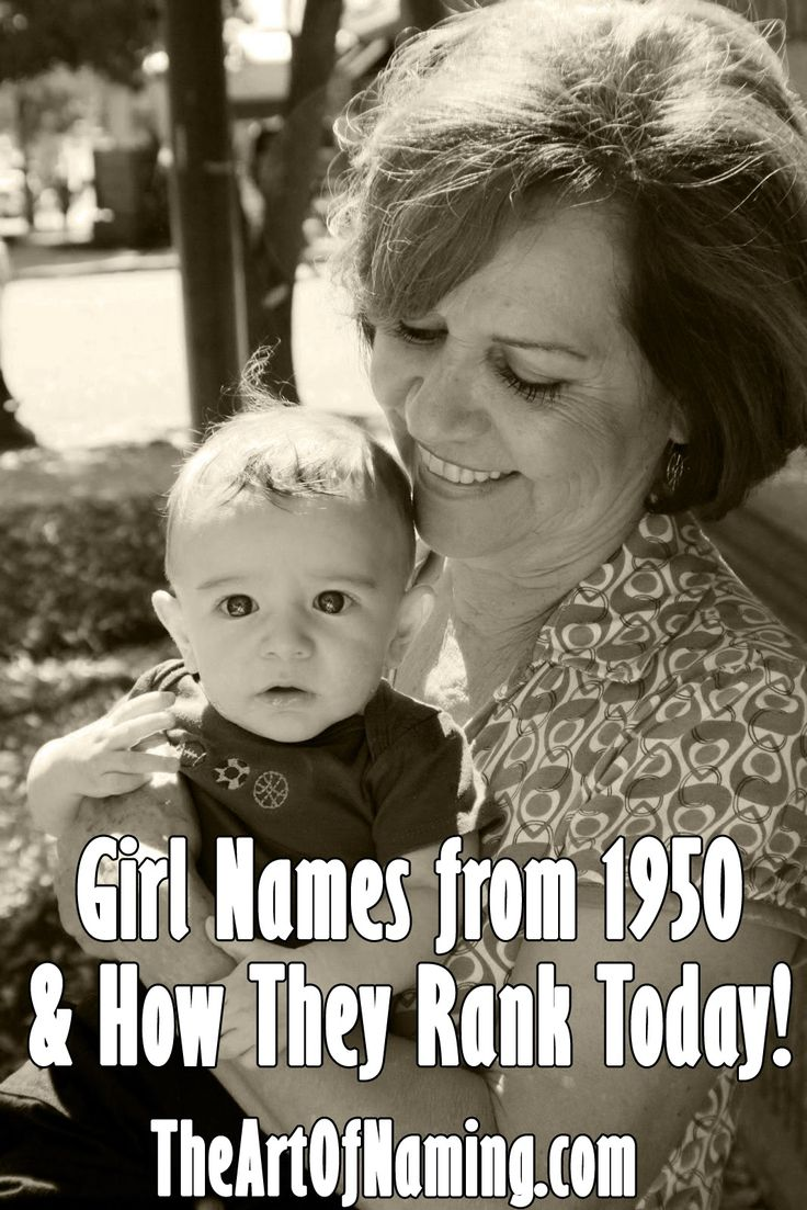 The Art of Naming: The Best Girl Names of 1950 and How They Rank Toda...