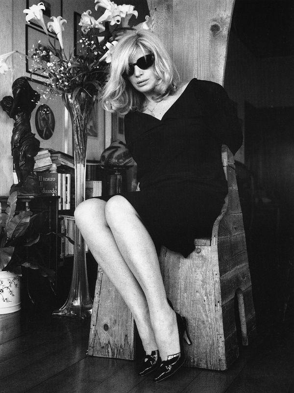 Monica Vitti by Helmut Newton.