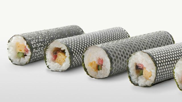 """Everything I love about Japan: Sushi, technology, fashion and delicate artwork all """"rolled"""" into one."""