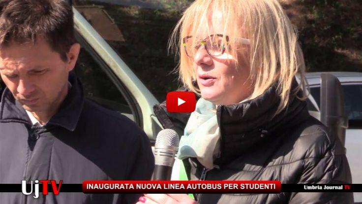 Inaugurato collegamento autobus per studenti universitari a Perugia