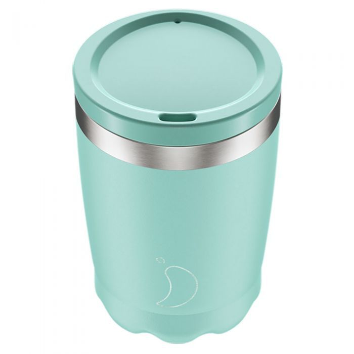 Chilly S Pastel Green Coffee Cup 340ml Green Coffee Cups Coffee