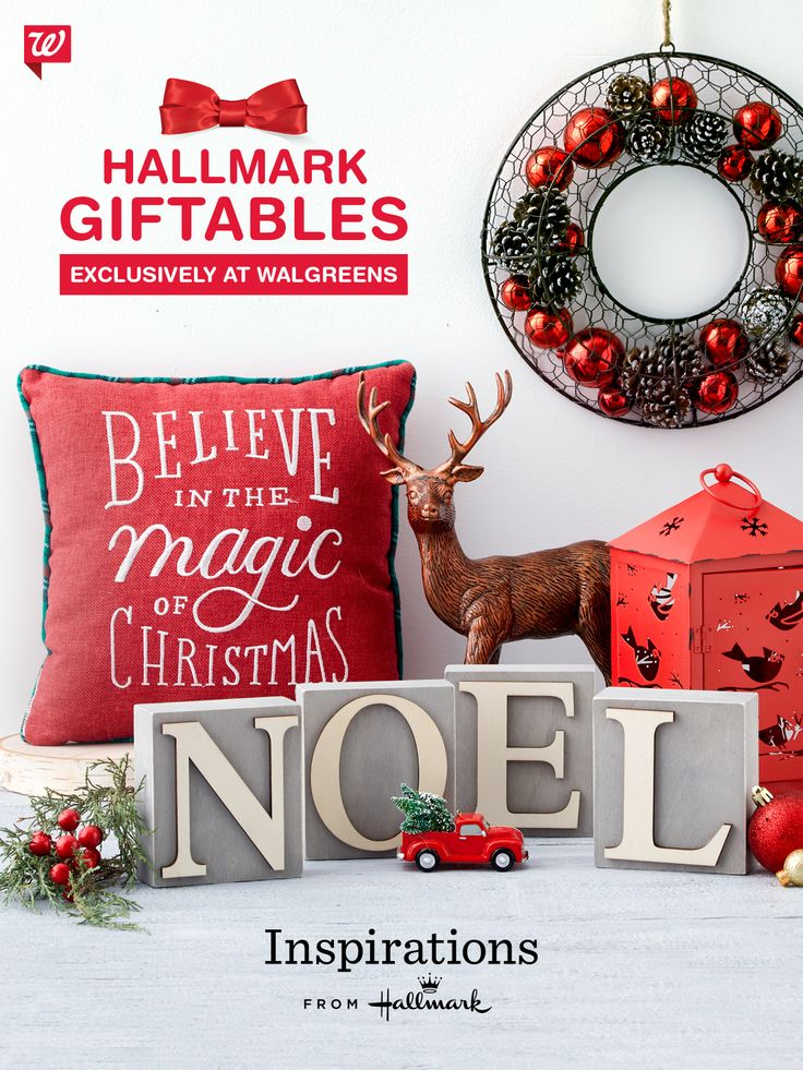 you trust a hallmark card when you need to say something important now the new inspirations from hallmark gift line has everything to make your home - Hallmark Christmas Home Decor
