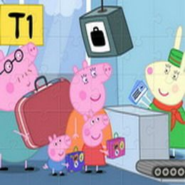 Put together several Peppa Pig themed puzzles. Choose from 9 different Peppa Pig pictures and then solve the jigsaw puzzle.