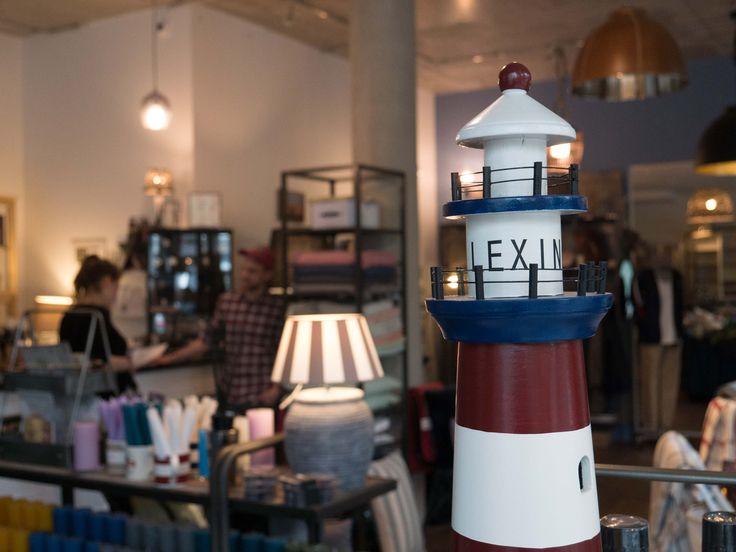 Einzelhandel Geschäft für Lifestyle und Interior Dekoration in Berlin:  Marine Leuchtturm