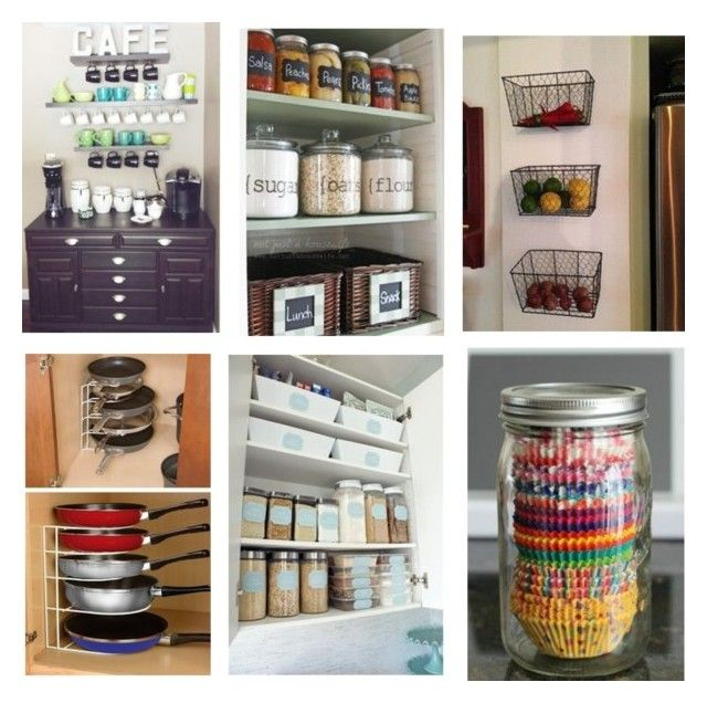 kitchen organization by flairbybrandi on Polyvore featuring interior, interiors, interior design, home, home decor, interior decorating and kitchen