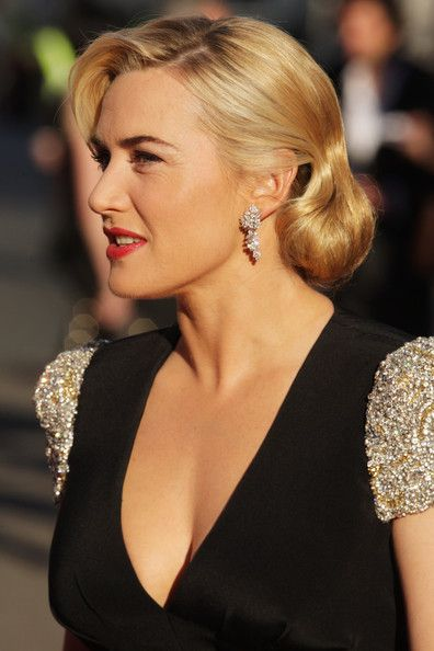Kate Winslet Bobby Pinned updo - oh yes!