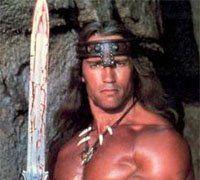 Arnold as Conan the Barbarian