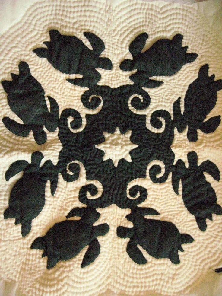 Hawaiian Turtle Quilt Hawaiian Quilts Pinterest
