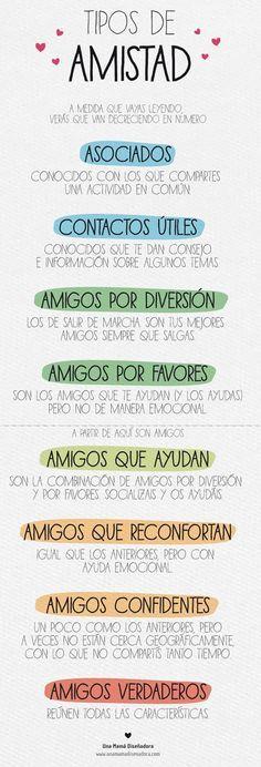 Tipos de amigos! ♡ Teresa Restegui http://www.pinterest.com/teretegui/ ♡