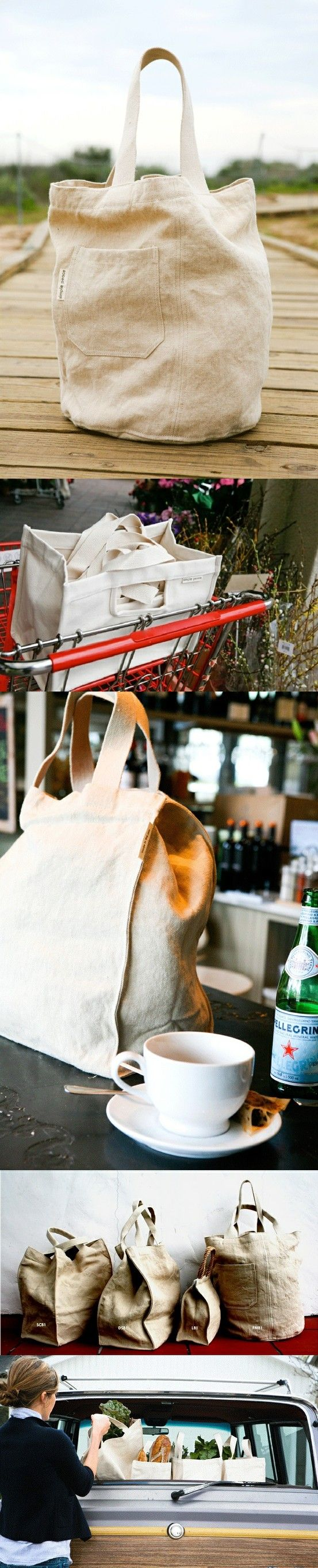 Simple Peace shopping bags were created by California based designer and green movement enthusiast DeAnna Reposa. She found herself frustrated with poor quality of reusable bags offered on the market, so she took it upon herself to create a perfect eco-friendly shopper.