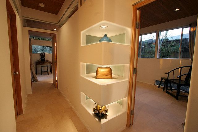 recessed wall niche ideas   shelves carved from walls   Flickr - Photo Sharing!