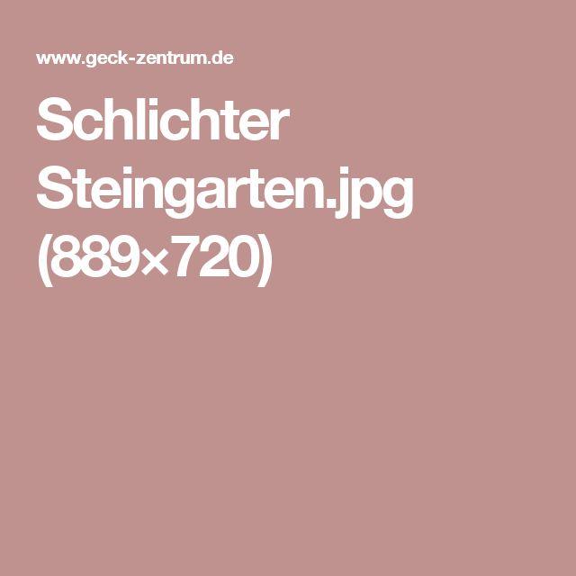 Schlichter Steingarten (889×720)