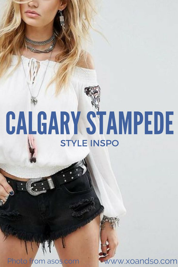 Outfit Ideas for the Calgary Stampede