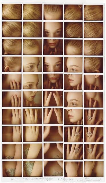 Maurizio Galimberti's portraits of celebrities by making Polaroid grids