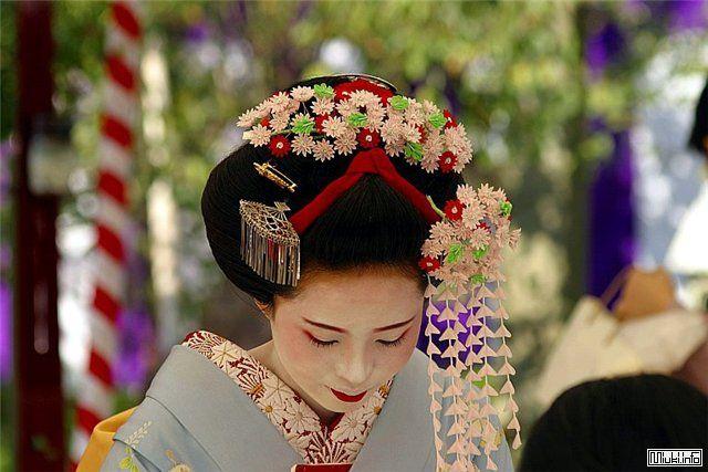 Японская гейша человек искусства