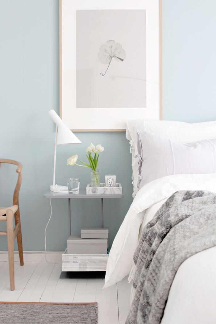 I like this bc the old house has walls this colour (in the room that will be the M bed). Might be a nicer synergy & it's certainly a calming colour/tone.