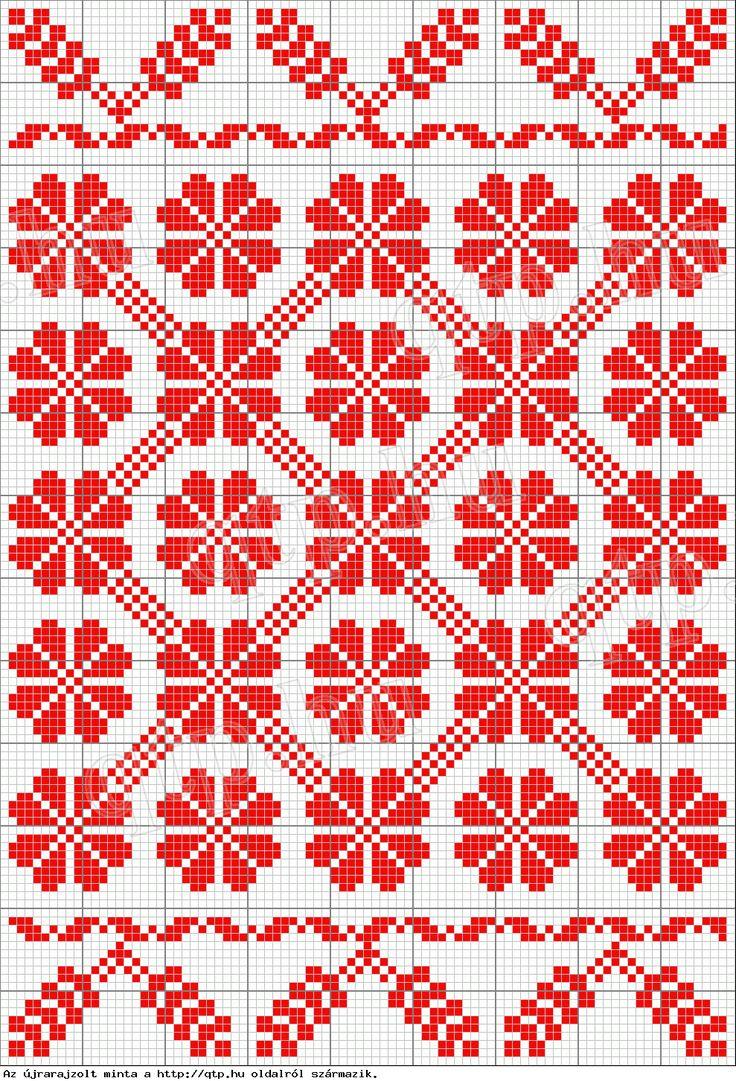 pattern - visit site http://qtp.hu/xszemes/mn2.php Magyar Népművészet II. Silágysági hímzések