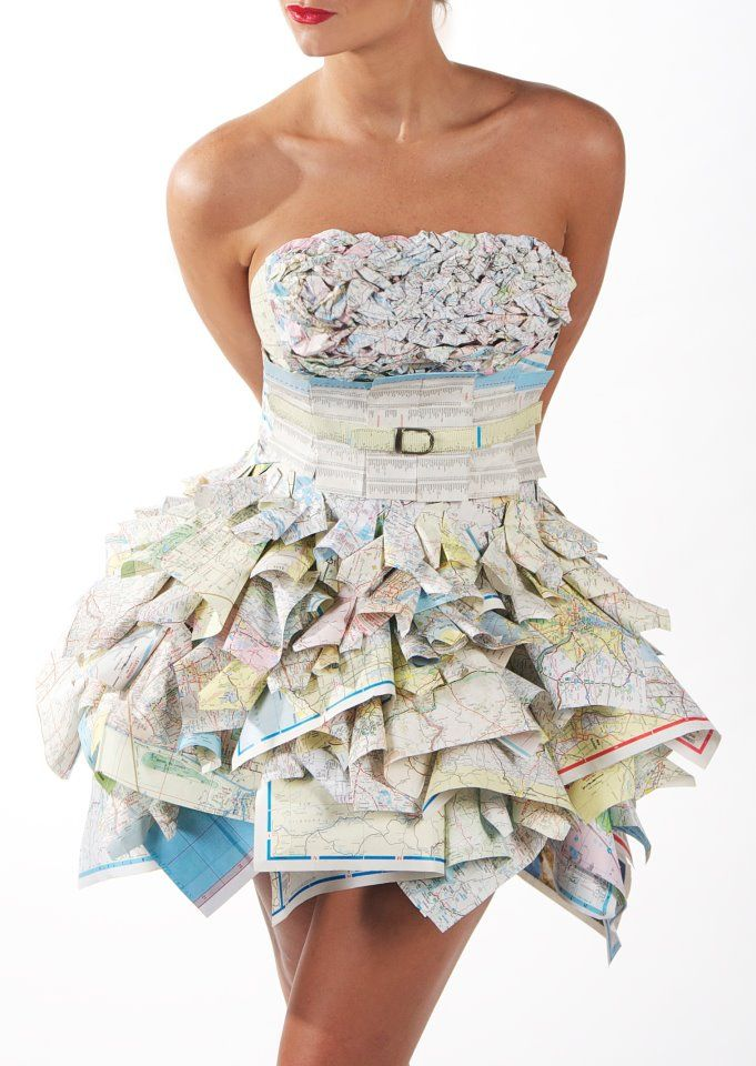 paper dress Dare to tear: paper fashions in the 1960s university of delaware, common threads 1960s paper dress, available from the world wide web: next | previous.