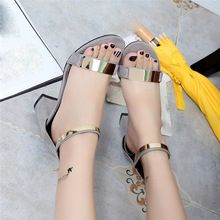 Verano de Las Mujeres Sandalias Chanclas Sandalias de Las Mujeres Talón Grueso Del Dedo Del Pie Abierto Zapatos de Las Mujeres de Corea del Estilo Gladiador Zapatos(China (Mainland))