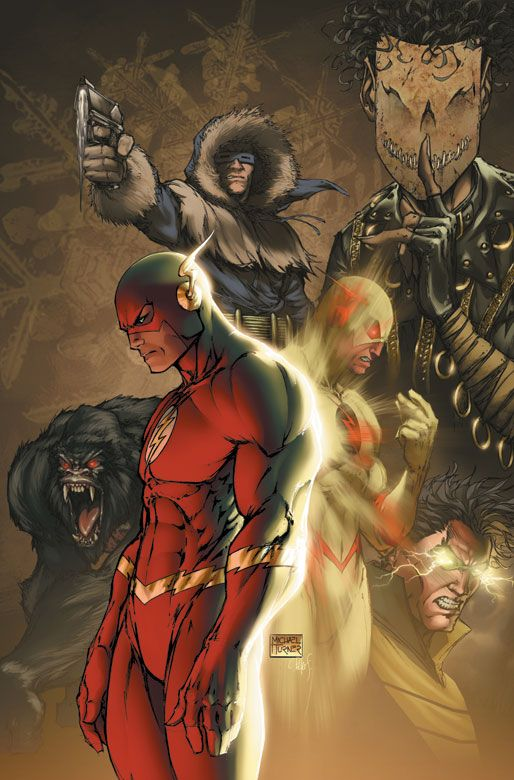 FLASH #210//Michael Turner/T/ Comic Art Community GALLERY OF COMIC ART