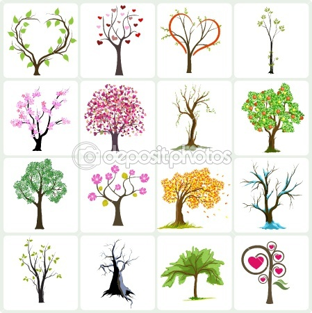 25 best ideas about abstract trees on pinterest two for Proyecto de jardineria
