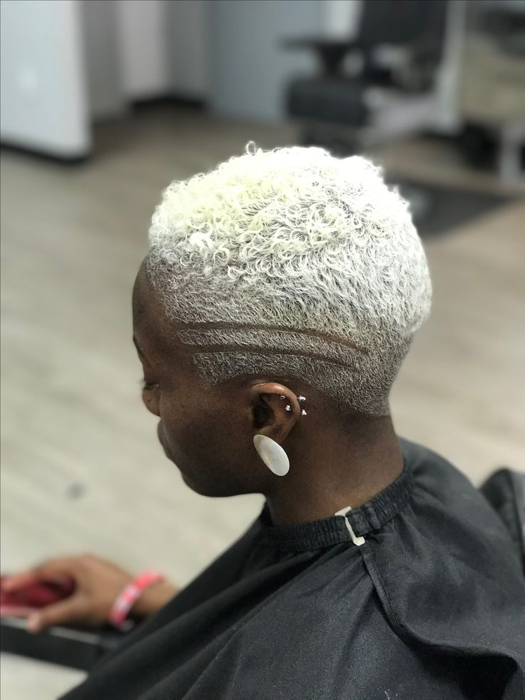 Platinum Blonde Baddie The New Storm Short Bleached