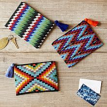 Zipper Pouch, Cosmetic Bags & Leather Zipper Pouch | West Elm