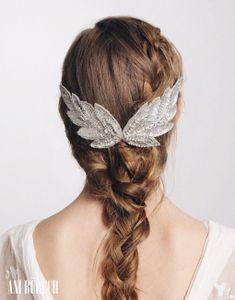Pretty Headpiece, Looks Like Wings...