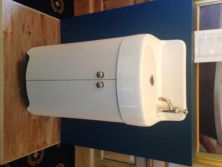 Arcade 500mm Cloakroom vanity with upstand